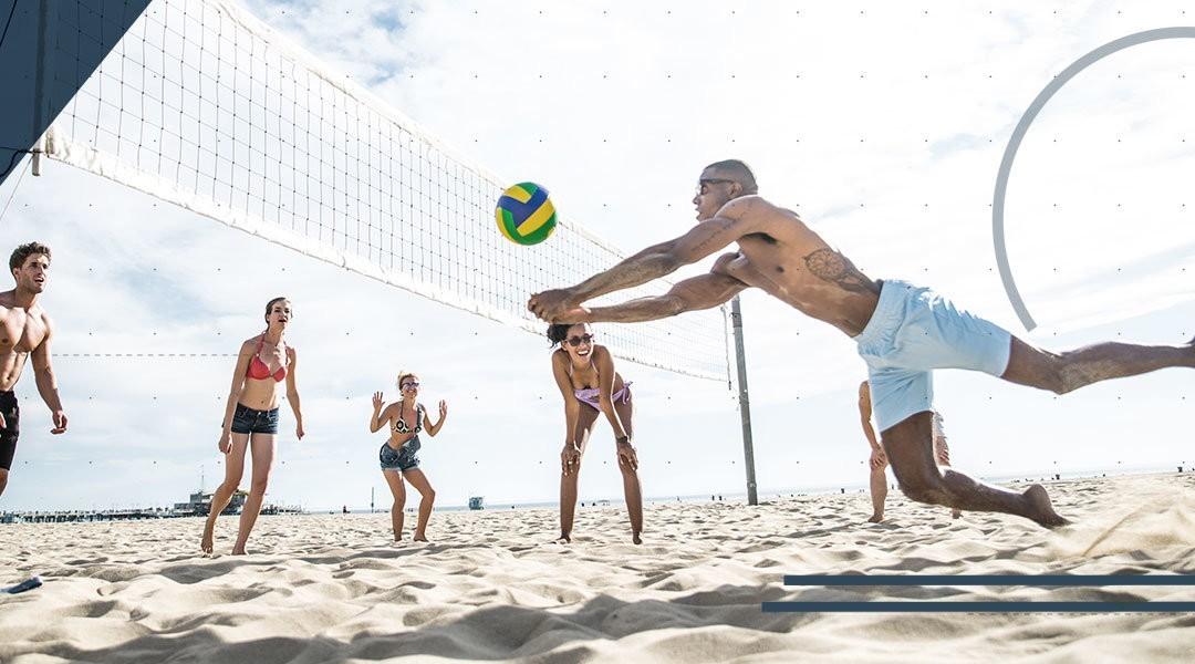 Beach Volley: benefici per il piede e la caviglia