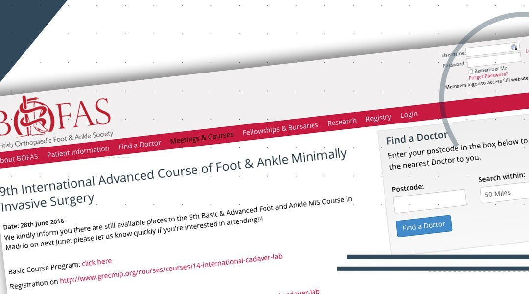 """Da Berlino a Madrid per il """"9th international course of foot and ankle minimally invasive surgery"""""""