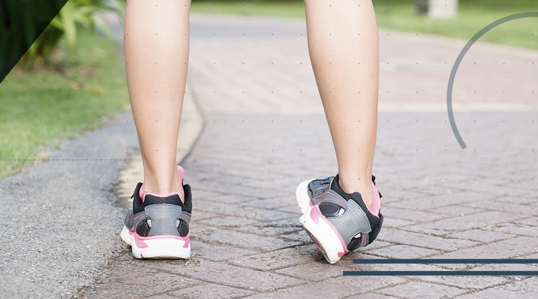 La distorsione di caviglia