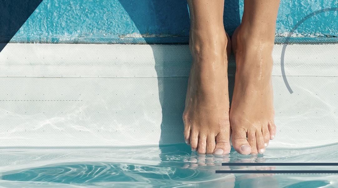 La riabilitazione della caviglia: il ruolo dell'acqua e della propriocettività